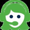 Data - green Bubble logo